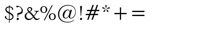 Italian Garamond Roman Font OTHER CHARS