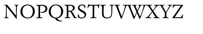 Italian Garamond Roman Font UPPERCASE