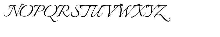 Italianno Regular Font UPPERCASE
