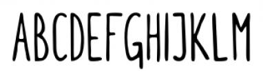 Itchy Handwriting Regular Font UPPERCASE