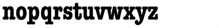 ITC American Typewriter Bold Condensed Font LOWERCASE