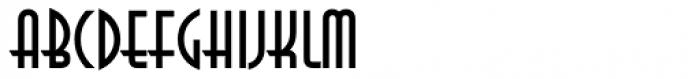 ITC Anna Com Regular Font UPPERCASE