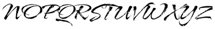 ITC Arid Std Font UPPERCASE