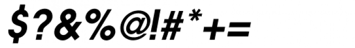 ITC Avant Garde DemiBold Oblique Font OTHER CHARS