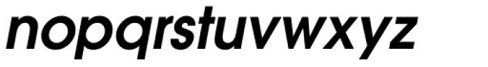 ITC Avant Garde Gothic Paneuropean Demi Bold Oblique Font LOWERCASE