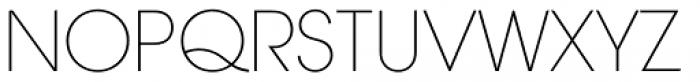 ITC Avant Garde Gothic Paneuropean Extra Light Font UPPERCASE