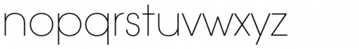 ITC Avant Garde Std XLt Font LOWERCASE