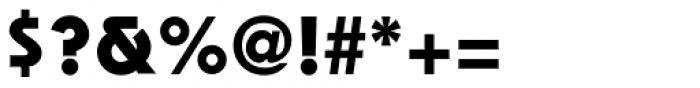 ITC Bauhaus Std Bold Font OTHER CHARS