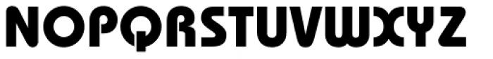 ITC Bauhaus Std Bold Font UPPERCASE