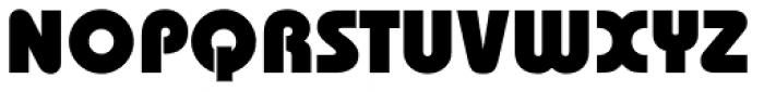 ITC Bauhaus Std Heavy Font UPPERCASE