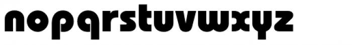 ITC Bauhaus Std Heavy Font LOWERCASE
