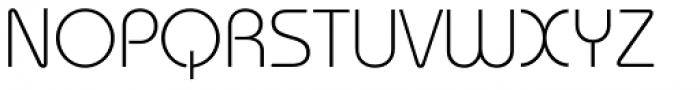 ITC Bauhaus Std Light Font UPPERCASE