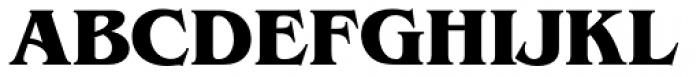 ITC Benguiat Pro Bold Font UPPERCASE