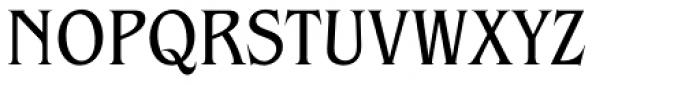 ITC Benguiat Pro Book Condensed Font UPPERCASE