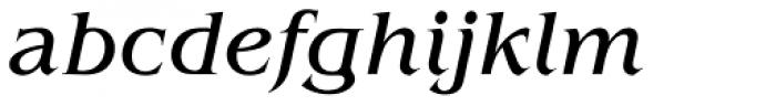 ITC Benguiat Pro Book Italic Font LOWERCASE