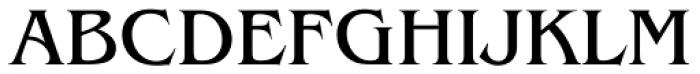 ITC Benguiat Pro Book Font UPPERCASE
