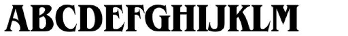 ITC Benguiat Std Condensed Bold Font UPPERCASE