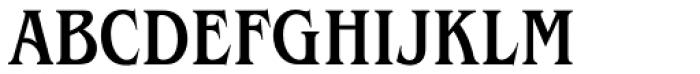 ITC Benguiat Std Condensed Medium Font UPPERCASE
