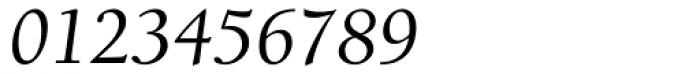 ITC Berkeley Old Style Medium Italic Font OTHER CHARS