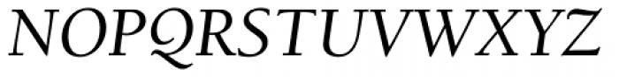 ITC Berkeley Old Style Medium Italic Font UPPERCASE
