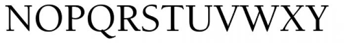 ITC Berkeley Old Style Medium Font UPPERCASE