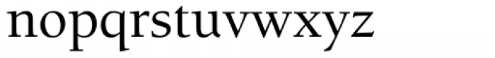 ITC Berkeley Old Style Medium Font LOWERCASE