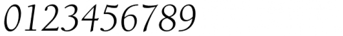 ITC Berkeley Old Style Pro Book Italic Font OTHER CHARS