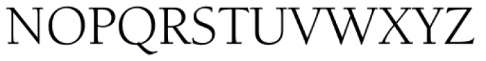 ITC Berkeley Old Style Std Book Font UPPERCASE