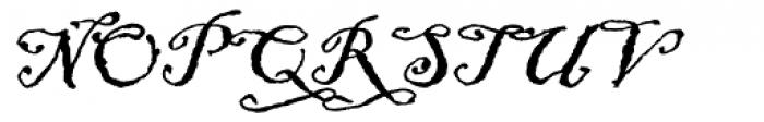 ITC Blackadder Font UPPERCASE