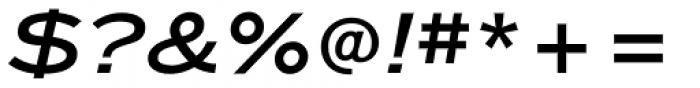 ITC Blair Medium Italic Font OTHER CHARS