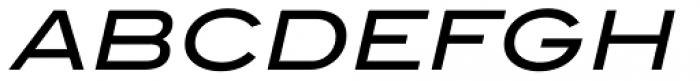 ITC Blair Medium Italic Font UPPERCASE