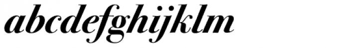 ITC Bodoni Seventytwo Bold Italic Font LOWERCASE