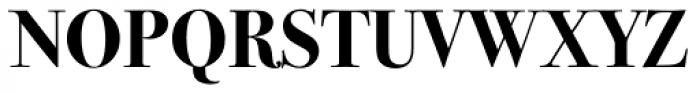 ITC Bodoni Seventytwo Bold OS Font UPPERCASE