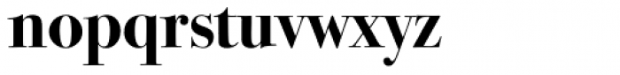 ITC Bodoni Seventytwo Bold OS Font LOWERCASE