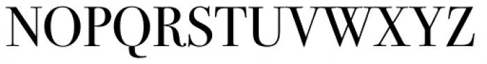 ITC Bodoni Seventytwo Book Font UPPERCASE