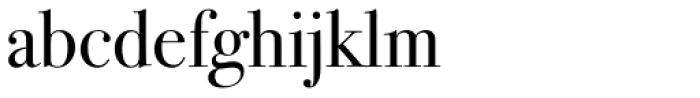 ITC Bodoni Seventytwo Book Font LOWERCASE