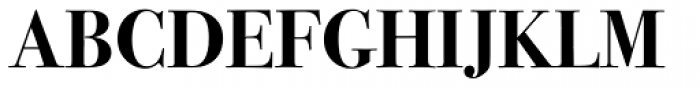 ITC Bodoni Seventytwo Pro Bold Font UPPERCASE