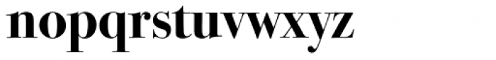 ITC Bodoni Seventytwo Pro Bold Font LOWERCASE