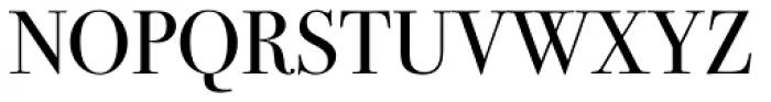 ITC Bodoni Seventytwo Pro Book Font UPPERCASE