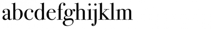 ITC Bodoni Seventytwo Pro Book Font LOWERCASE
