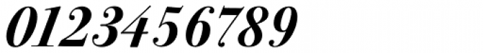 ITC Bodoni Seventytwo Std Bold Italic Font OTHER CHARS