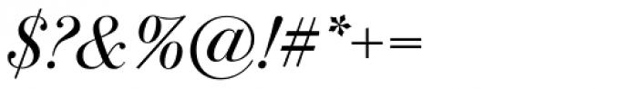 ITC Bodoni Seventytwo Std Book Italic Font OTHER CHARS
