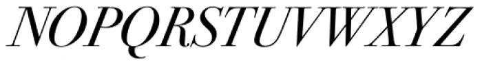 ITC Bodoni Seventytwo Std Book Italic Font UPPERCASE