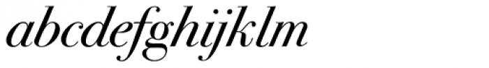 ITC Bodoni Seventytwo Std Book Italic Font LOWERCASE