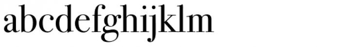 ITC Bodoni Seventytwo Std Book Font LOWERCASE