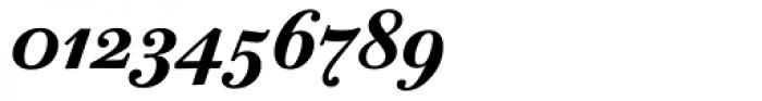 ITC Bodoni Twelve Bold Italic OS Font OTHER CHARS