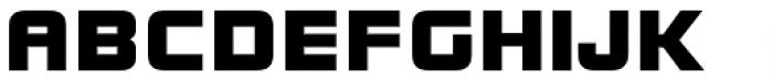 ITC Bolt Std Regular Font UPPERCASE