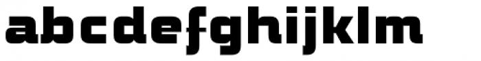 ITC Bolt Std Regular Font LOWERCASE