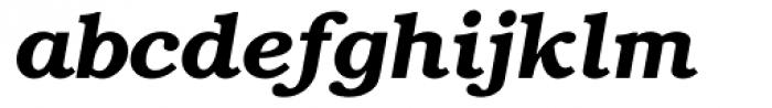 ITC Bookman DemiBold Italic Font LOWERCASE