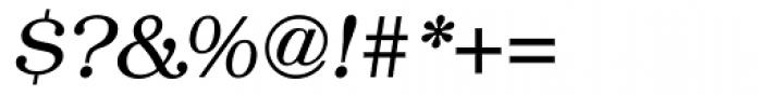 ITC Bookman Light Italic Font OTHER CHARS